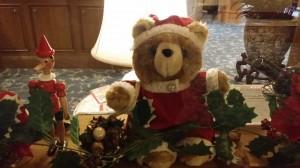 テディベア クリスマスバージョン